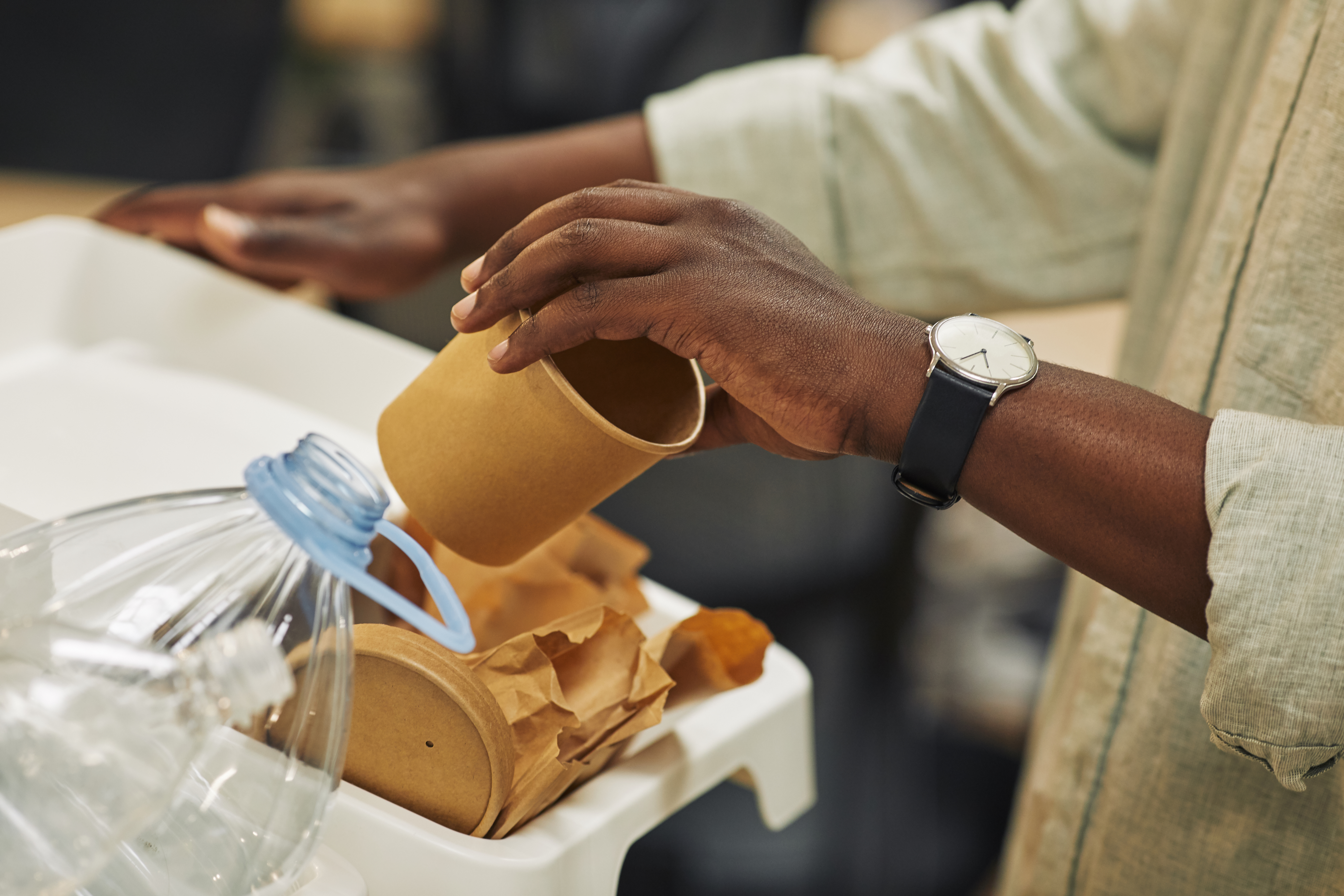 Recycling paper cup