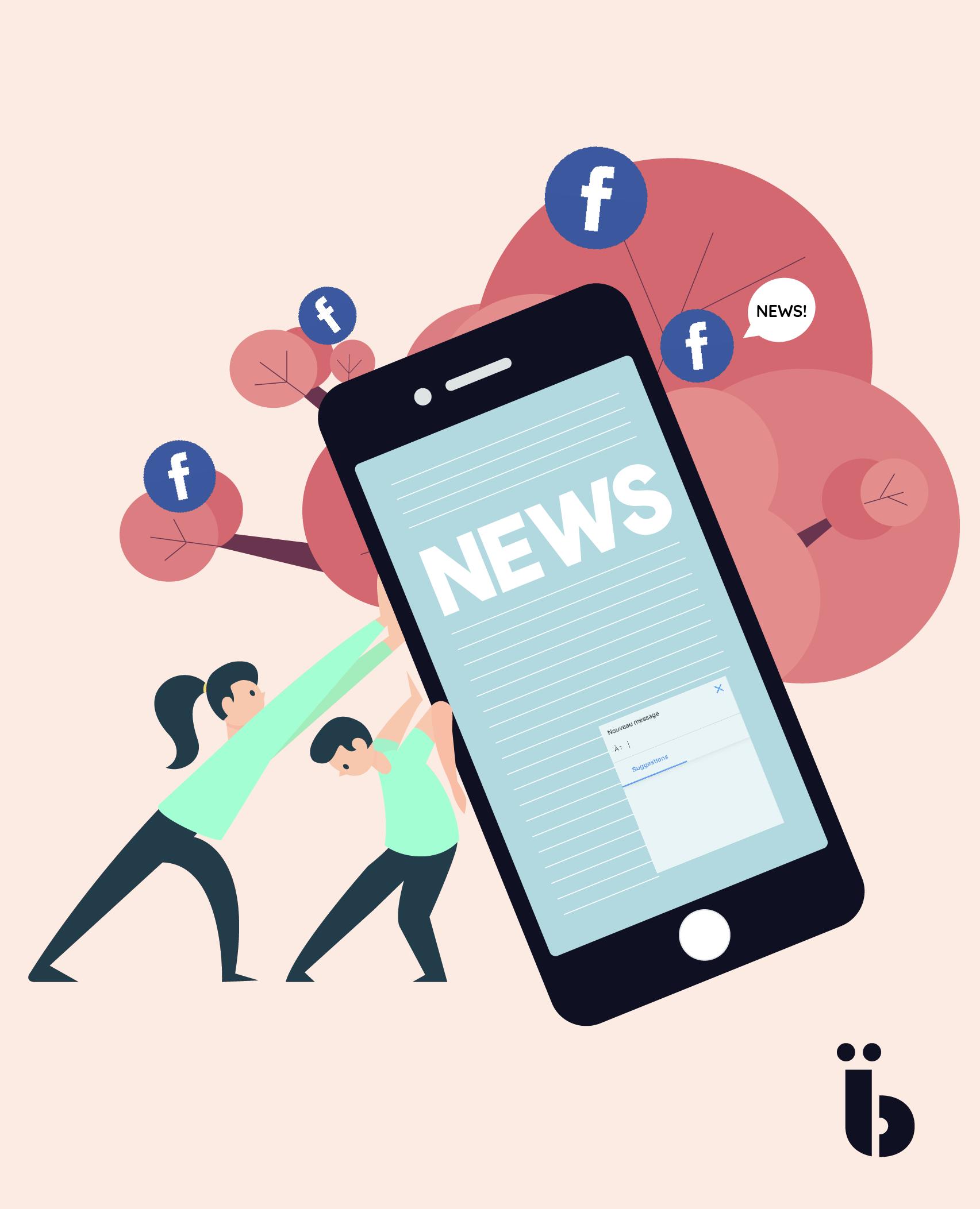Facebook nouvelles fonctionnalités messenger agence de communication paris marseille barcelone